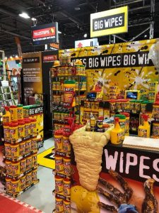 Batimat 2019 exhibition Big Wipes stand
