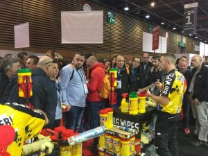 Big Wipes busy exhibition stand