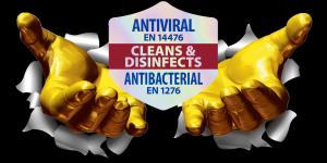 Antiviral wipes