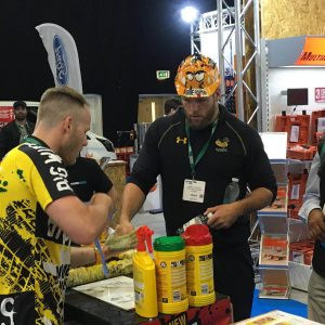 James Haskell Big Wipes
