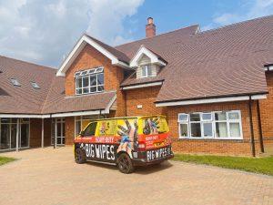 Big Wipes and Alexander Devine Children's Hospice Van