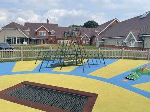 Big Wipes and Alexander Devine Children's Hospice Playground